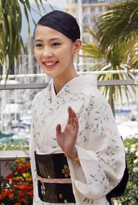 Yoshino Kimura at the photocall of