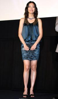 Yoshino Kimura at the Japan premiere of