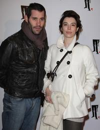 Jalil Lespert and Berengere Allaux at the premiere of