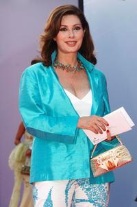 Edwige Fenech at the premiere of
