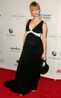 Heike Makatsch at the 34th International Emmy Awards Gala.