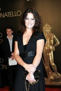 Giovanna Mezzogiorno at the David di Donatello 2007 Italian Awards.