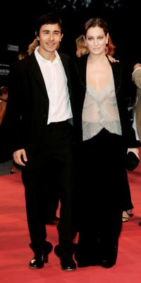 Luigi Lo Cascio and Giovanna Mezzogiorno at the premiere of