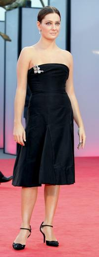 Giovanna Mezzogiorno at the Golden Lion Awards during the 62nd Venice Film Festival.