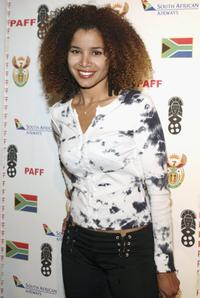 Mari Morrow at the 14th Annual Pan African Film Fest.