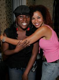 Girlie Designs Creator Linda Antwi and Mari Morrow at the BET Awards.