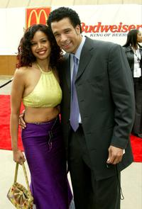 Dorian Gregory and Mari Morrow at the 17th Annual Soul Train Music Awards.