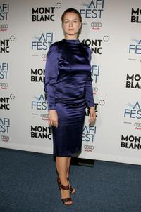 Samantha Morton at the world premiere of