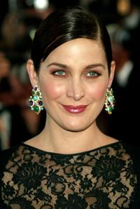 Carrie-Anne Moss at premiere