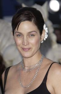 Carrie-Anne Moss at the premiere of