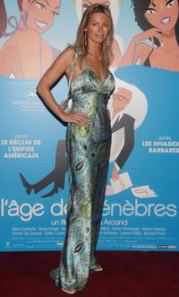 Caroline Neron at the premiere of