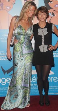 Caroline Neron and Emma De Caunes at the premiere of