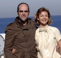 Luis Tosar and Najwa Nimri at the photocall of