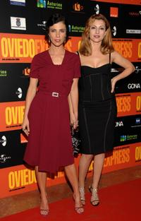 Maribel Verdu and Najwa Nimri at the photocall of