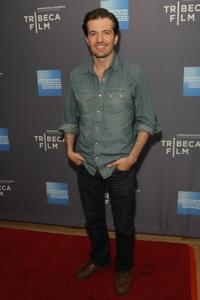 Tygh Runyan at the New York theatrical premiere of Tribeca Films inaugural release slate.