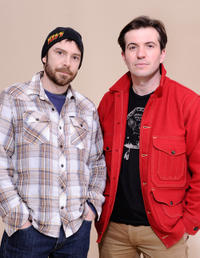 Brad Dryborough and Tygh Runyan at the portrait session of