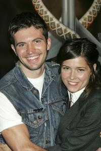Tygh Runyan and Sarah Lind at the premiere of