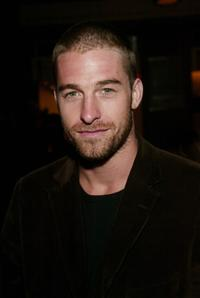 Scott Speedman at the premiere after-party of
