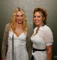 Daryl Hannah and Sandra Taylor at the after party of the premiere of