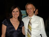 Molly Shannon and Mike White at the LA premiere of