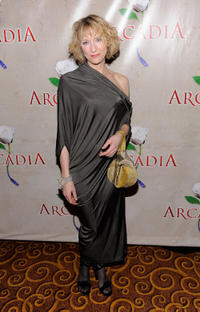 Lia Williams at the after party of the broadway opening night of