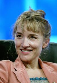 Emily Woof at the PBS 2005 Television Critics Association Summer Press Tour.