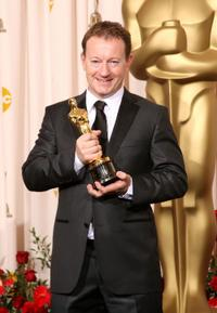 Simon Beaufoy at the 81st Annual Academy Awards.