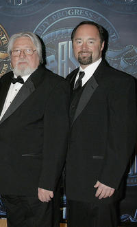 Laszlo Kovacs and Jeff Cronenweth at the American Society of Cinematographers 20th Annual Outstanding Achievement Awards.