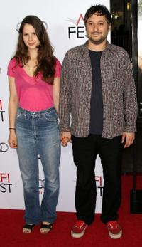 Rachel Korine and Harmony Korine at the screening of