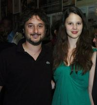 Harmony Korine and Rachel Korine at the 2009 Toronto International Film Festival.