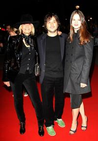 Anita Pallenberg, Harmony Korine and Rachel Kornie at the BFI 51st London Film Festival.