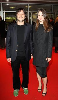 Harmony Korine and Rachel Korine at the BFI 51st London Film Festival premiere of