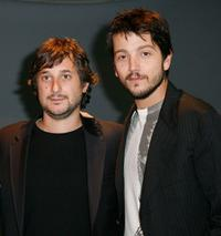 Harmony Korine and Diego Luna at the North American premiere of