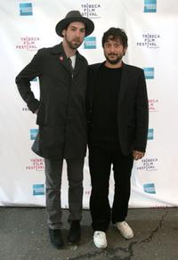 Leo Fitzpatrick and Harmony Korine at the premiere of