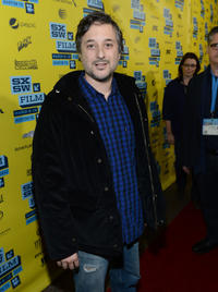 Director Harmony Korine at the premiere of