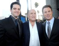 Aaron Schneider, Robert Duvall and producer Dean Zanuck at the premiere of
