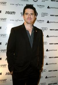 Aaron Schneider at the after party of the premiere of