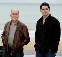 Robert Duvall and Aaron Schneider at the photocall of