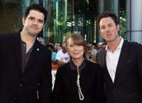 Aaron Schneider, Sissy Spacek and Dean Zanuck at the screening of