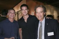 Producer Andrew Sacks, Aaron Schneider and Jon Bloom at the 78th Academy Awards - Nominated Shorts Reception.