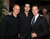 Producer Joey Rappa, Aaron Schneider and producer Dean Zanuck at the after party of the screening of
