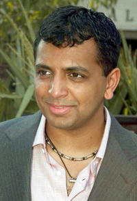 M. Night Shyamalan at the premiere of