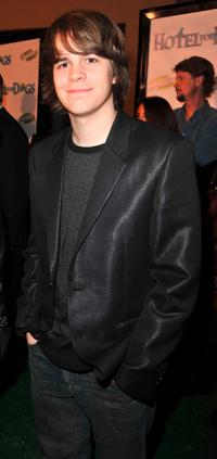 Johnny Simmons at the premiere of