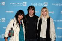 Zoe Kravitz, Johnny Simmons and Shana Feste at the screening of