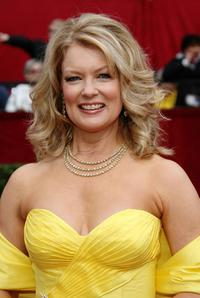 Mary Hart at the 80th Annual Academy Awards.