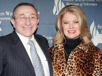 Rabbi Marvin Hier and Mary Hart at the premiere of
