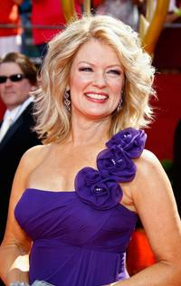 Mary Hart at the 60th Primetime Emmy Awards.