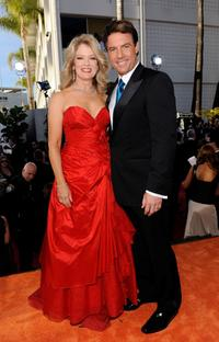 Mary Hart and Mark Steines at the 66th Annual Golden Globe Awards.
