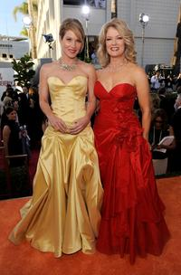 Christina Applegate and Mary Hart at the 66th Annual Golden Globe Awards.