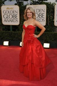 Mary Hart at the 66th Annual Golden Globe Awards.